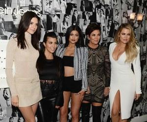 kendall jenner, kylie jenner, and khloe kardashian image