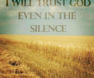 god and trust image