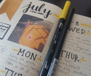 creative, journal, and korean image