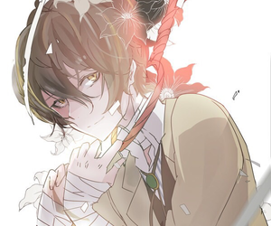anime, bungou stray dogs, and dazai image