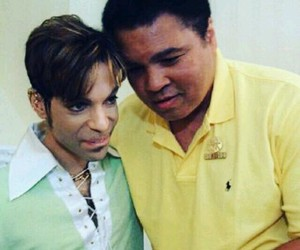 muhammad ali and prince rogers nelson image
