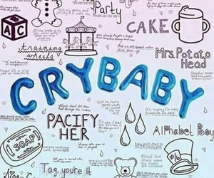 melanie martinez, cry baby, and wallpaper image