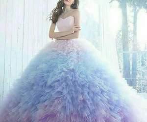 dress, princess, and style image