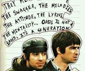 band, liam gallagher, and musicians image