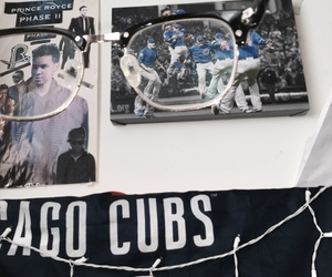 chicago, cubs, and glasses image