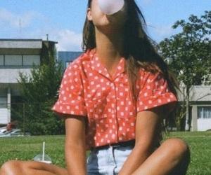 girl, 90s, and bubblegum image