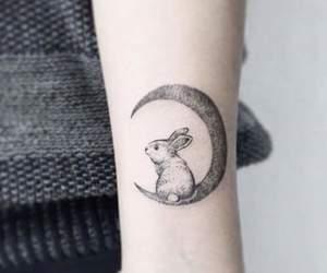 tattoo and rabbit image