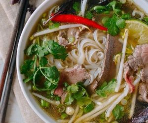 beef, food, and pho image