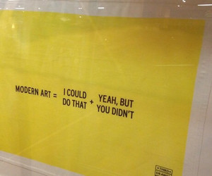 art, quotes, and yellow image