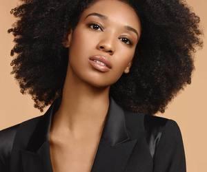 big hair, natural hair, and afro hair image