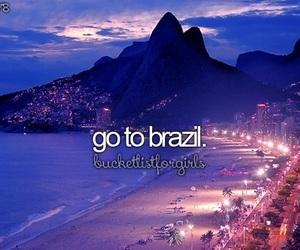 brazil, travel, and Dream image