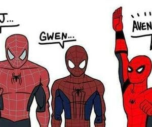 Avengers, Marvel, and peter parker image