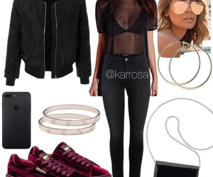 fashion, Polyvore, and clothing image