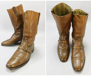 cowboy boots, etsy, and leather boots image