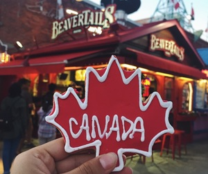 cabin, canada, and cookie image