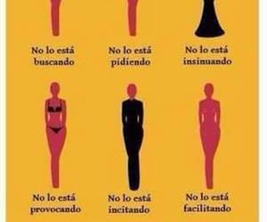 frases, ropa, and mujer image