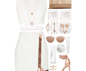 beauty, Polyvore, and clothing image