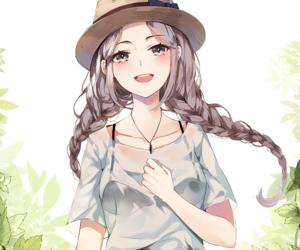 Anime Girl Hair Braid