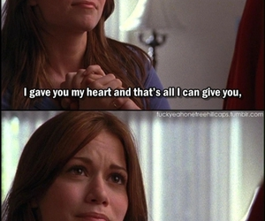 one tree hill, oth, and one tree hill quote image