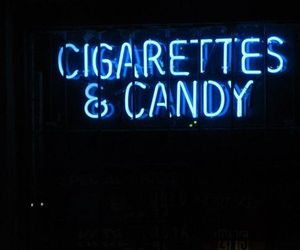 blue, candy, and cigarette image