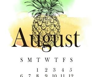 agenda, August, and calendar image