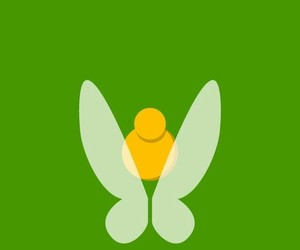 disney, green, and tinkerbell image