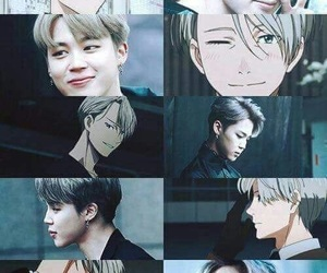 bts, jimin, and anime image