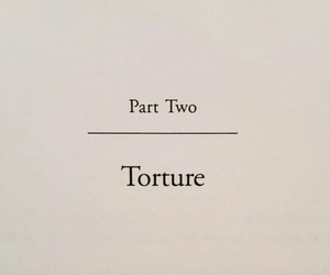 torture, book, and words image