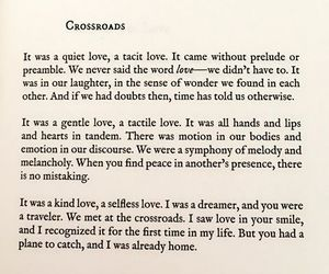 crossroads, Lang Leav, and lost love image