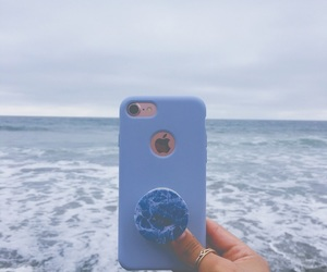 beach, water, and popsocket image