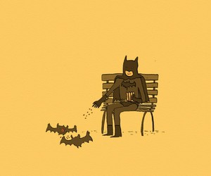 all, batman, and people image