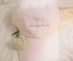 fashion, flower, and calvinklein image