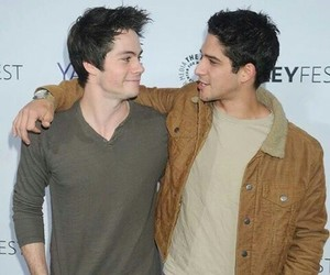 tyler posey and dylan obrien image