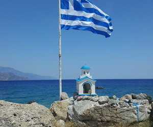 blue, drop, and Greece image