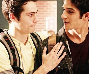 teen wolf, tyler posey, and scott image