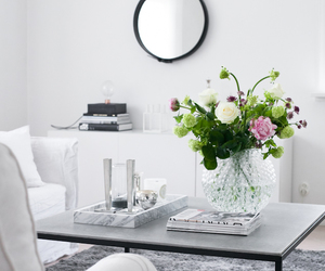 decor, decoration, and flowers image