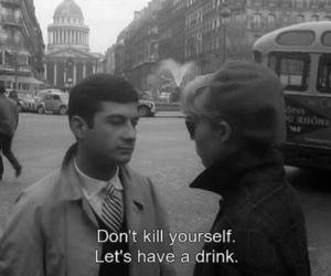 quotes, movie, and drink image