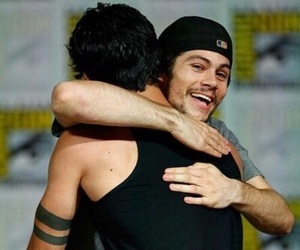 tyler posey, dylan o'brien, and dylan image