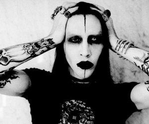 Marilyn Manson, goth, and music image