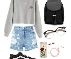 basic, simple, and outfit image