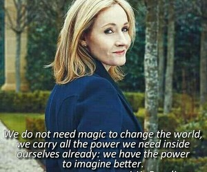 aesthetic, harry potter, and jk rowling image
