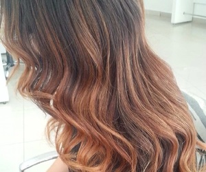 hair, haare, and ombré image