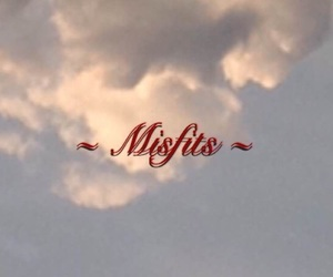 aesthetic, cloud, and misfits image