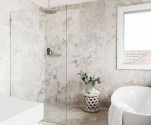 architecture, bathroom, and bath image