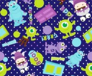 wallpaper, disney, and monsters inc image