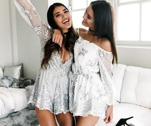fashion, girl, and best friends image