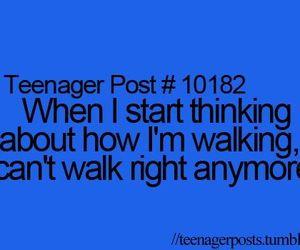 walking and teenager post image