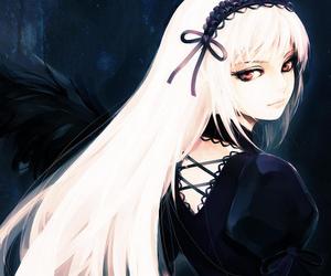 anime girl, dark, and rozen maiden image
