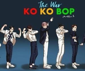exo, fanart, and kokobop image
