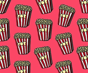 food, pattern, and Pop cOrn image